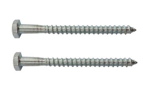 Galvanized Hex Head Bolt Wood Screw Din571 10.9 Class Alloy Steel Material